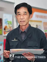 Chon Yong Il, creator at the Korean Industrial Design Studio