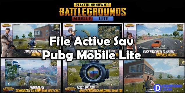 Trik Mengatasi Lag PUBG Mobile Lite dengan File Active √ Trik Mengatasi Lag PUBG Mobile Lite dengan File Active.sav 60Fps