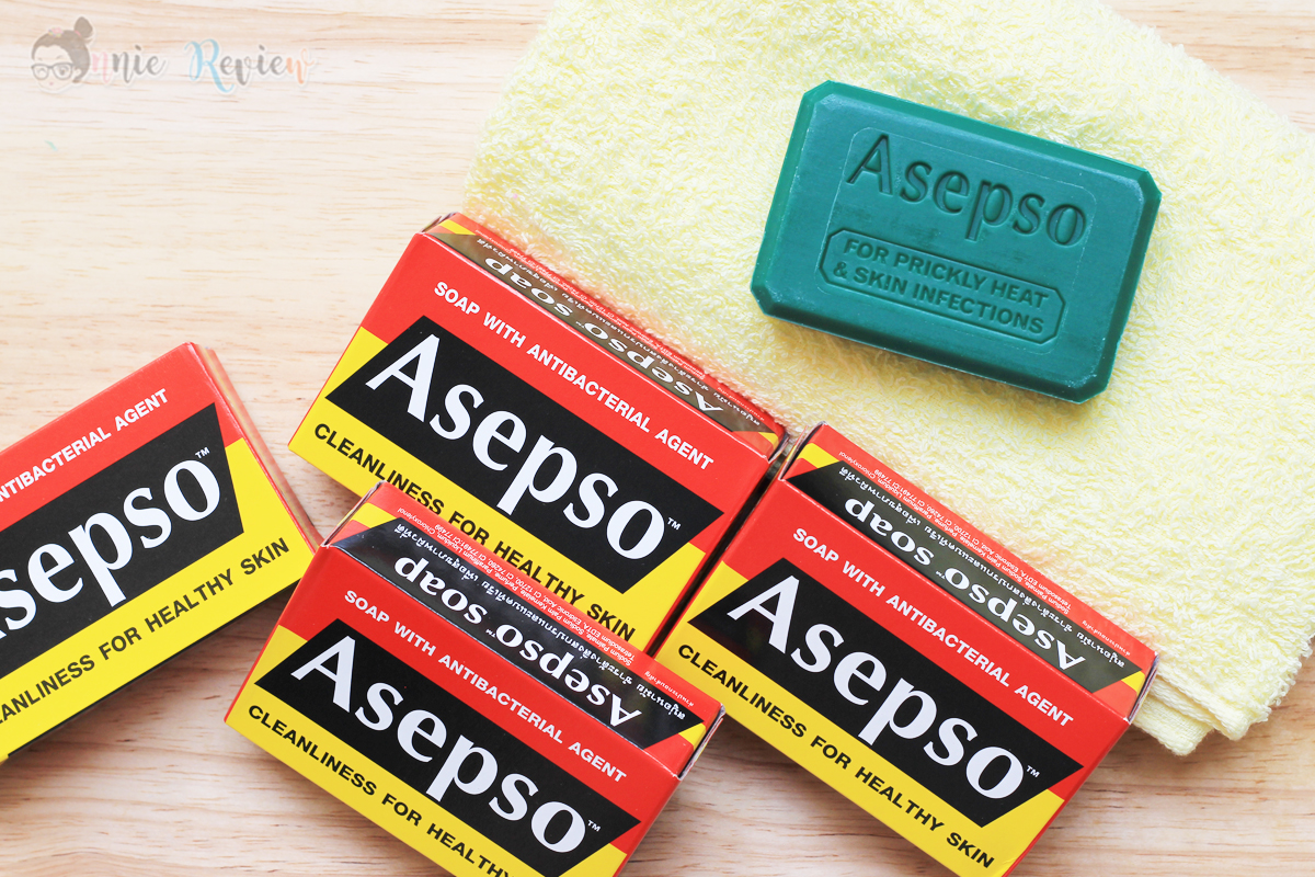 Onnie Review Asepso Plus Antiseptic Soap