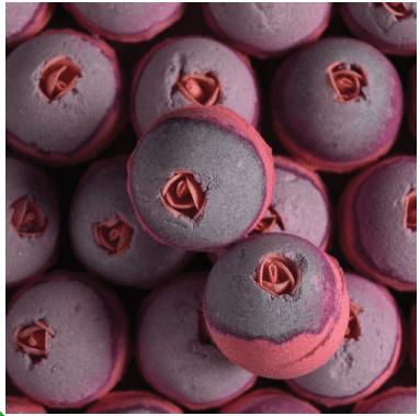 Bombe de bain Lush Raspberrylipstick