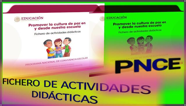 PNCE-FICHERO DE ACTIVIDADES DIDÁCTICAS