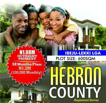 Buy From Hebron County - Ibeju-Lekki LGA