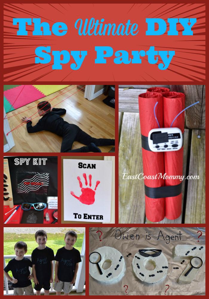 Spy Mission Birthday Cake