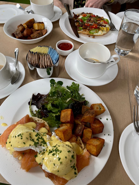 Brunch at The Topping Rose House