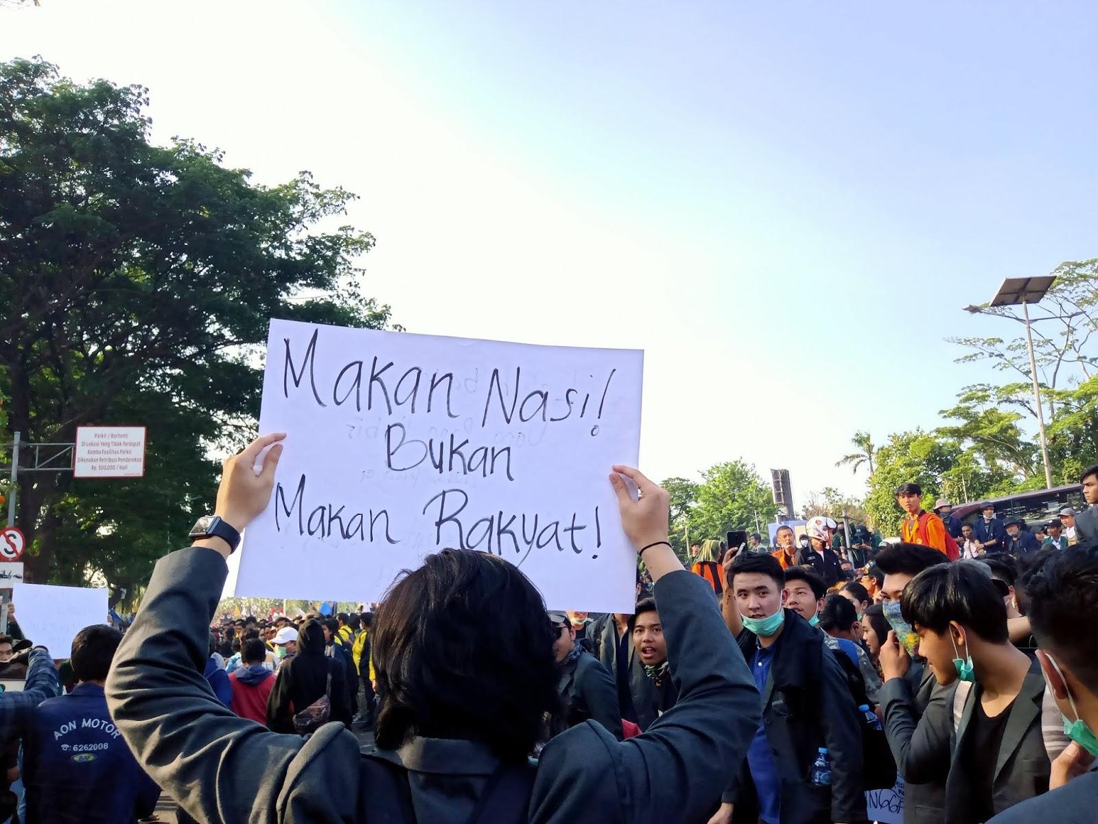 Menristekdikti ke Mahasiswa yang Demo: Yang Didemokan Apa?