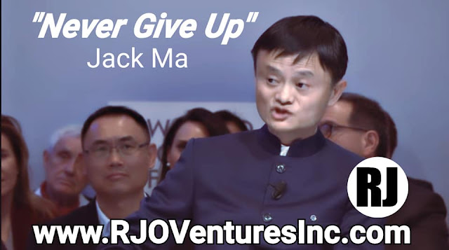 Jack Ma - Alibaba Founder at RJO Ventures Inc