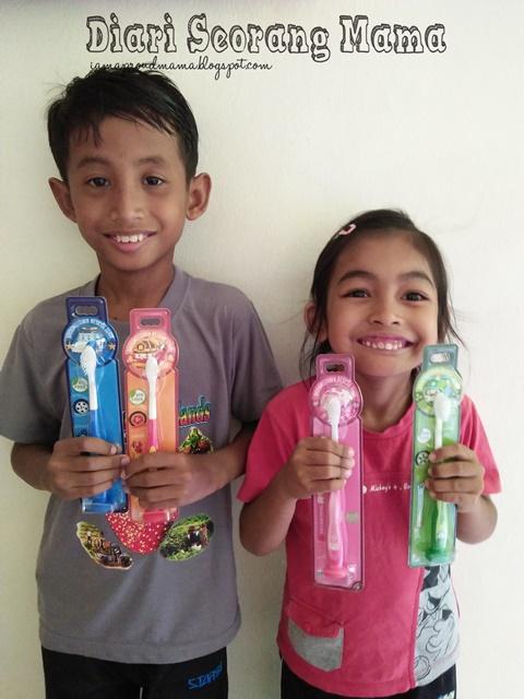 Jom Berus Gigi Dengan Robocar Poli Suction Kids Toothbrush