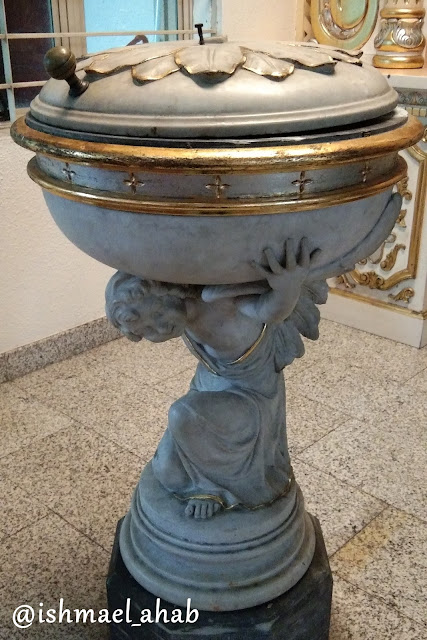 Baptismal font of Our Lady of Sorrows Church in Pasay