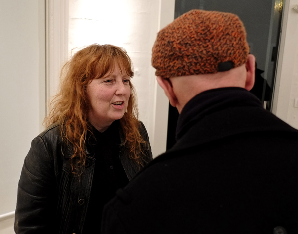Julie Williams THE TEARS at Barometer gallery. Photographed by Kent Johnson.