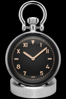 Panerai Table Clock (PAM00651) with California dial