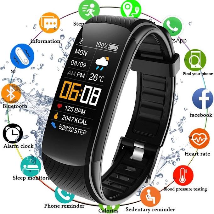 Smartwatch Heart Rate Monitor Waterproof