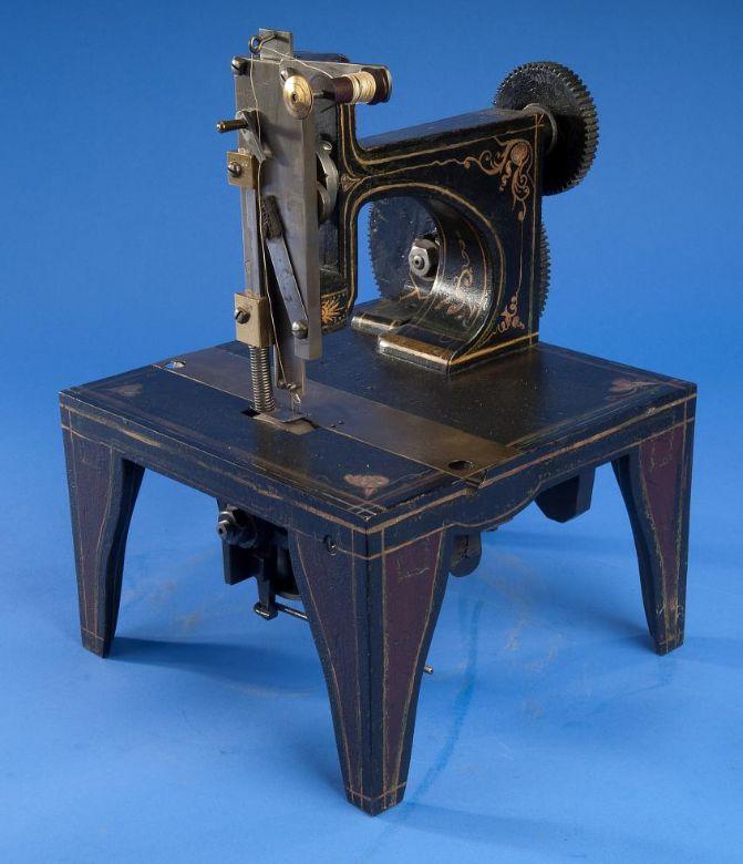 Singer sewing machine patent model 1851 - photo framing 1