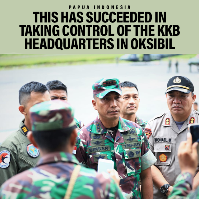 TNI Successfully Takes Control of KKB Headquarters in Oksibil