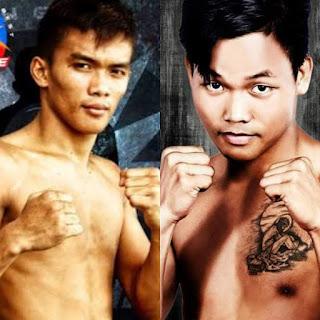 Sanman's Jade Bornea and Danrick Sumabong