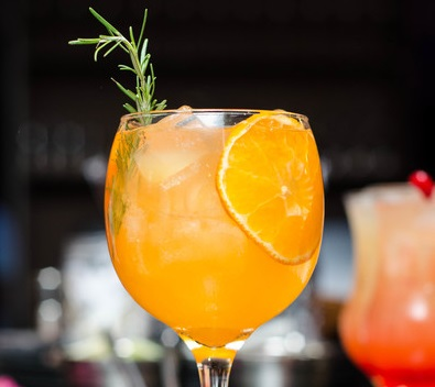 Orange Prosecco Cocktail
