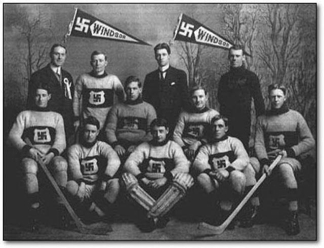 The Windsor Swastikas men hockey team