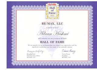 adnan hashmi  hall of fame award