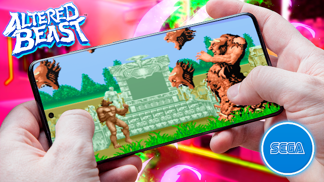 Altered Beast Para Teléfonos Android (ROM SEGA)