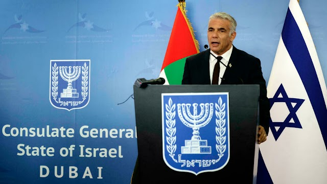 Israel and UAE to sign more deals, Israel's top diplomat Yair Lapid says