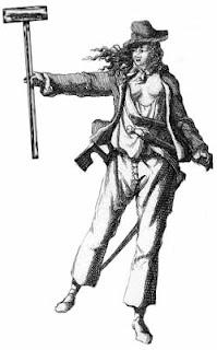 Female pirate drawing - photo#31