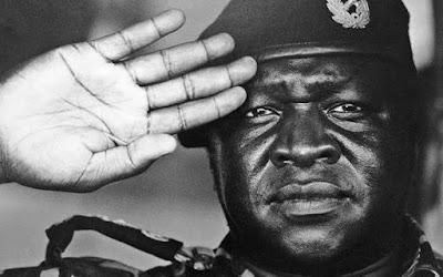 Idi Amin, a cruel dictator and human eater.