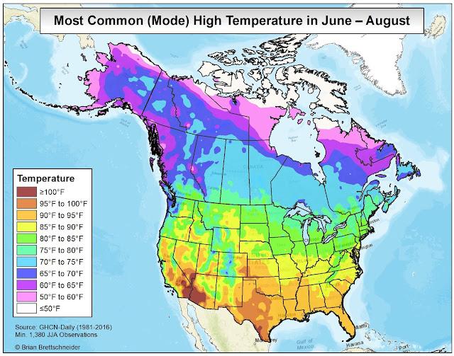 Florida Temperature Map.Brian B S Climate Blog