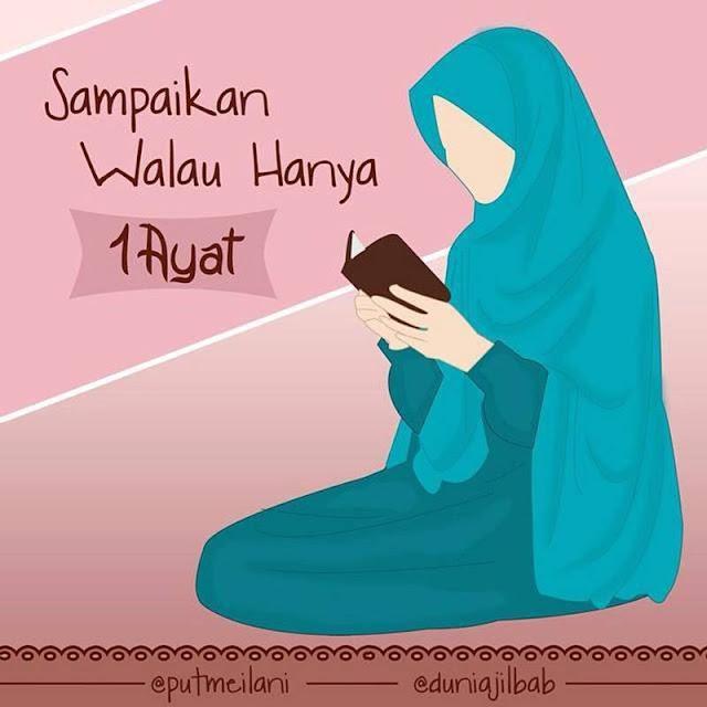 akhwat baca qur'an