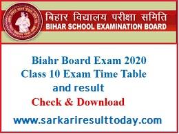 Sarkari Result Bihar Board 2019 th