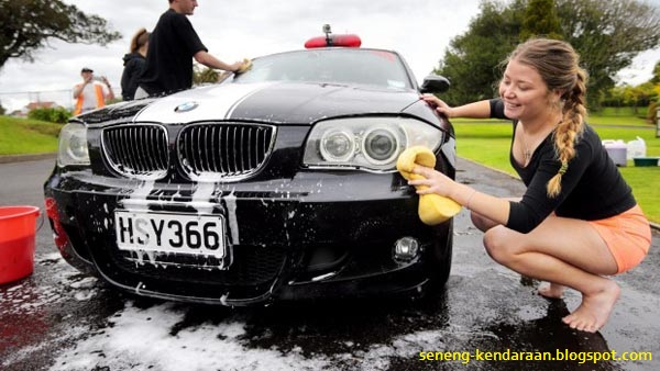 Beberapa Kesalahan Ketika Mencuci Mobil
