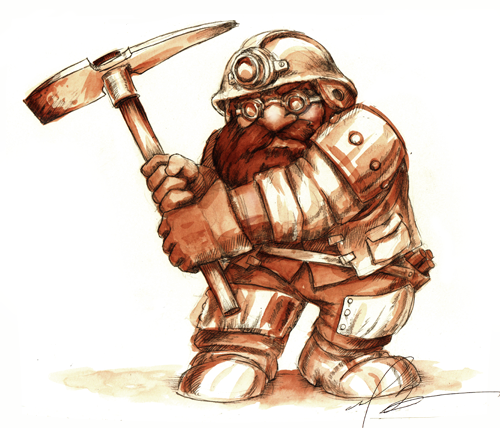 Dd Concept Art Viking Farmer With Axe