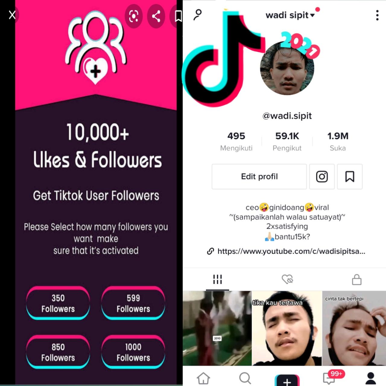 ratusan follower  tiktok cara cepat mendapat followers tiktok gratis