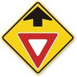 yield ahead in spanish