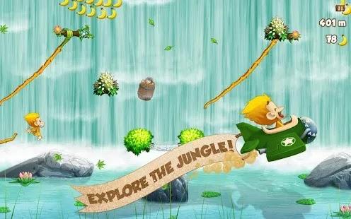 Benji Bananas هي لعبة ركض لا نهاية  وتجربة فرحة تحلق على طول الكروم من خلال بيئات مختلفة!