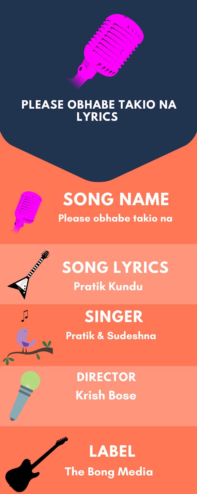 Please obhabe takio na lyrics