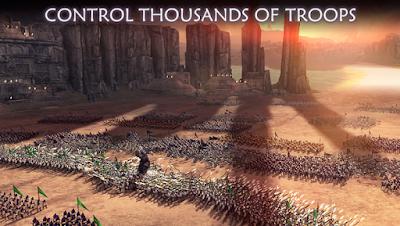 Dawn Of Titans النسخة المهكرة للاجهزة الاندرويد