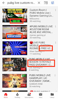 Win PUBG UC through Custom Rooms