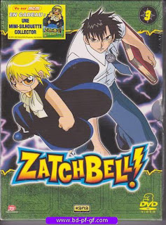 Dvd, Zatchbell!