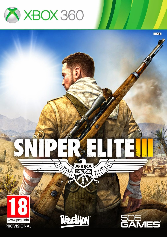 Cover Caratula Sniper Elite 3 XBOX 360 ESPAÑOL Descargar