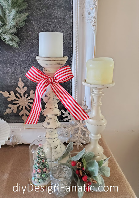 Christmas, Christmas foyer vignette, Christmas decor,  Christmas decorating, Vintage Home Studio, cloche,  farmhouse finds