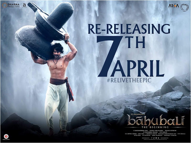 Baahubali - The Beginning Re-Release on 7th April