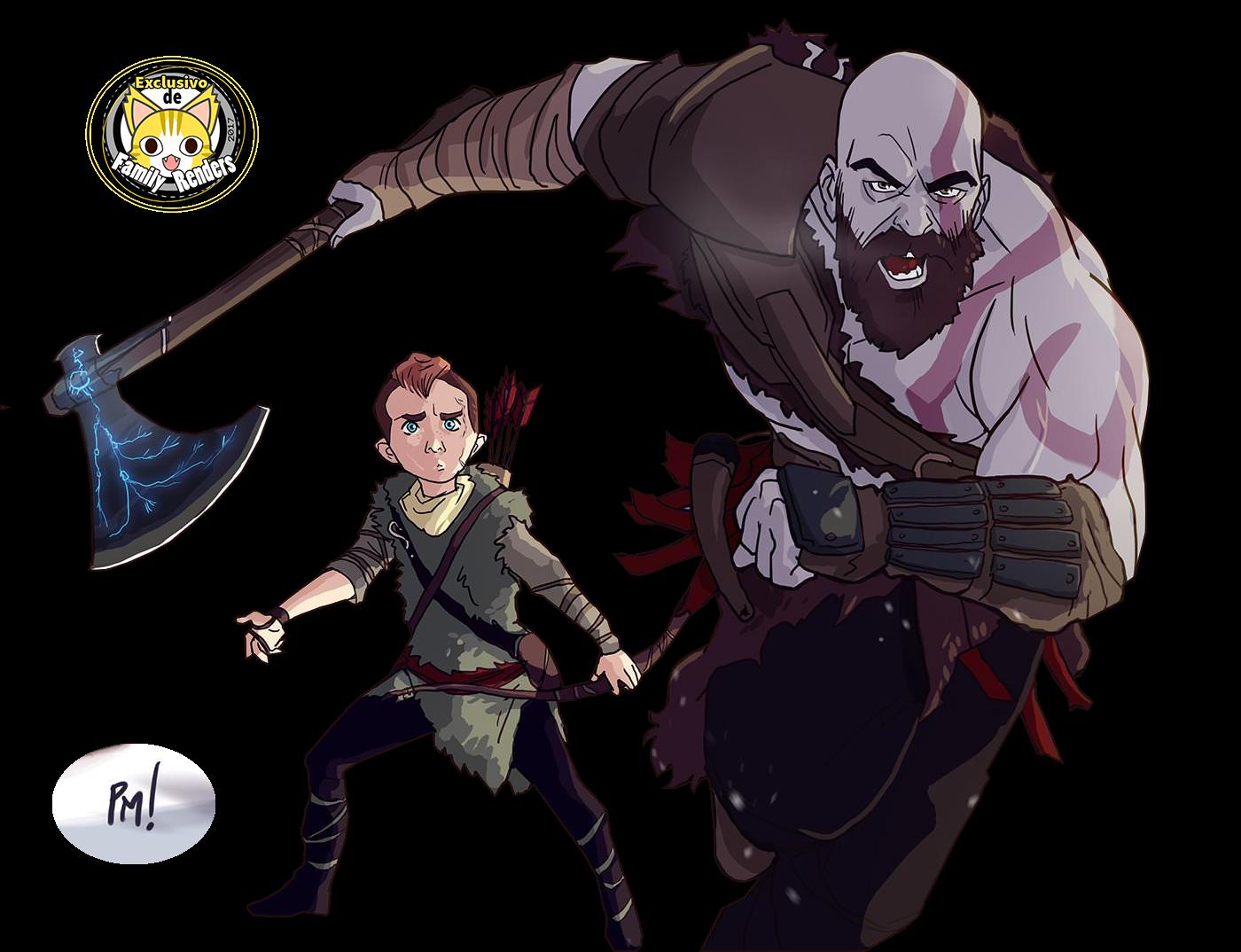 render Atreus  + Kratos