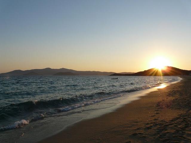 Praia Agios Prokopios, Naxos