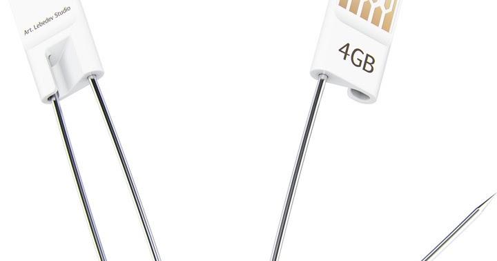 Hong Kong Fashion Geek: Geek Spy: USB Safety Pin