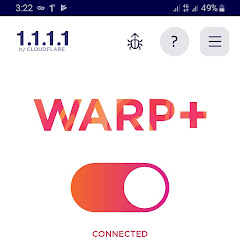 Download Warp VPN, Cloudflare Unlimited Free Mobile VPN