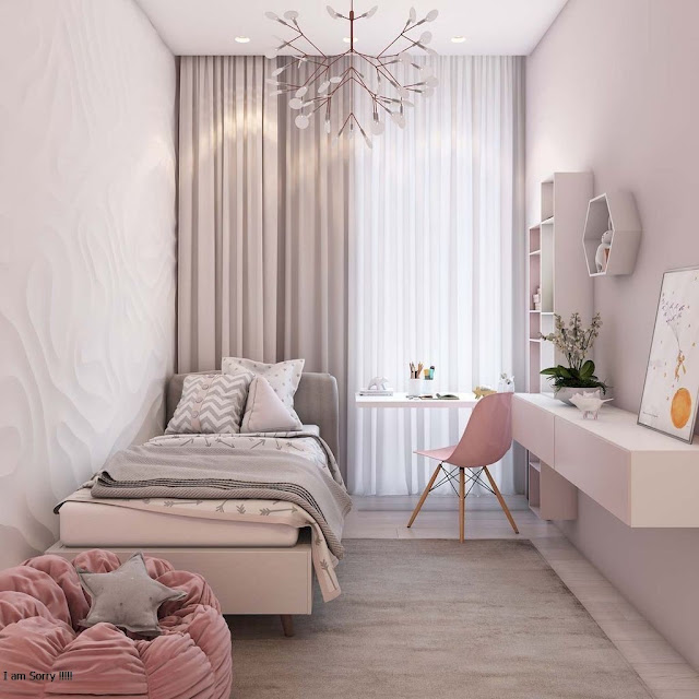Bedroom Minimalist Ideas Pink