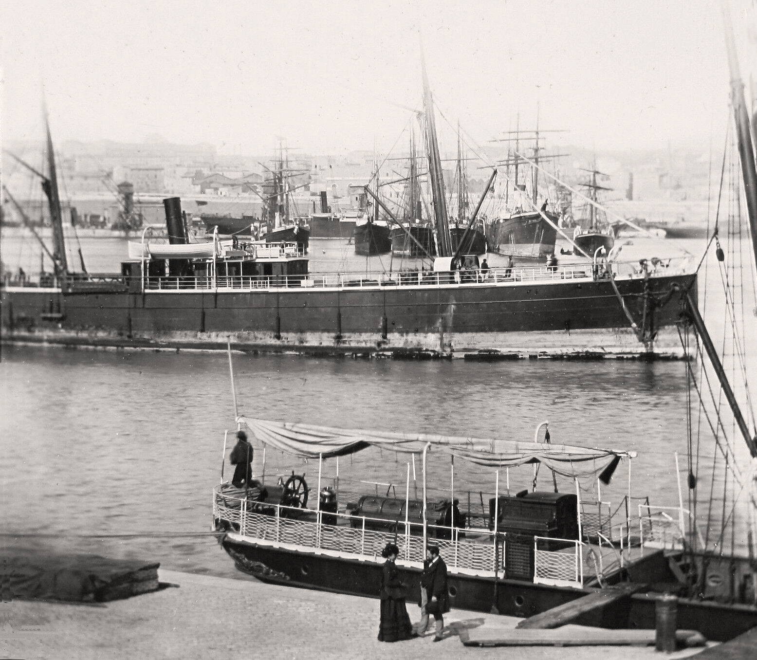 transpress nz: ships in London, England, late 19th century