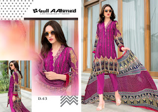 Gull A Ahmed Lawn collection vol 5 Pakistani Suits