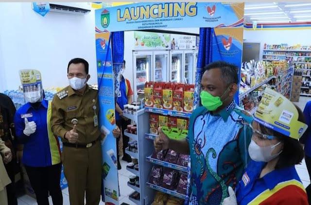 Walikota Prabumulih Hadiri Launching Produk UMKM