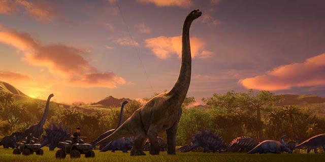 'Parque Jurásico: Campamento Cretácico' Netflix