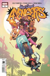 West Coast Avengers núm 1, de Kelly Thompson y Stefano Caselli - Marvel Comics